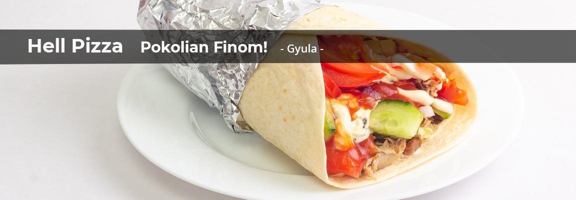 étel házhoz szállítás gyula hell pizza online burrito gyros